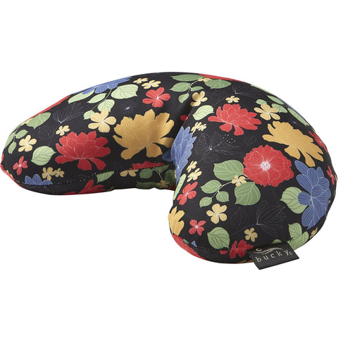 Compact Neck Pillow with Snap & Go - Garden Blooms