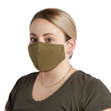 Cloth Face Mask Set of 3 - Olive Green