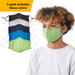 Boy's Face Mask - Set of 5
