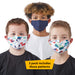 Boy's Printed Face Mask - Set of 3