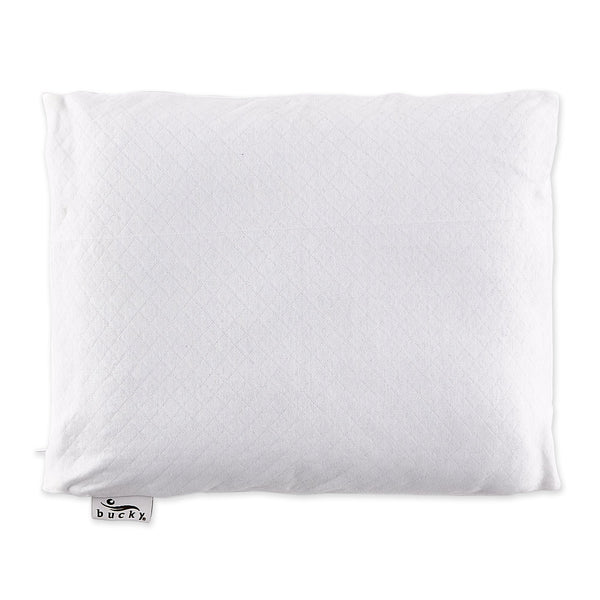 Travel Buckwheat Pillow - White