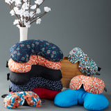 Compact Neck Pillow with Snap & Go - Ditsy Floral - Bucky - 5