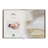 Large Duo Bed Pillow White