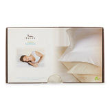 Natural Cotton Bed Pillow-Natural White