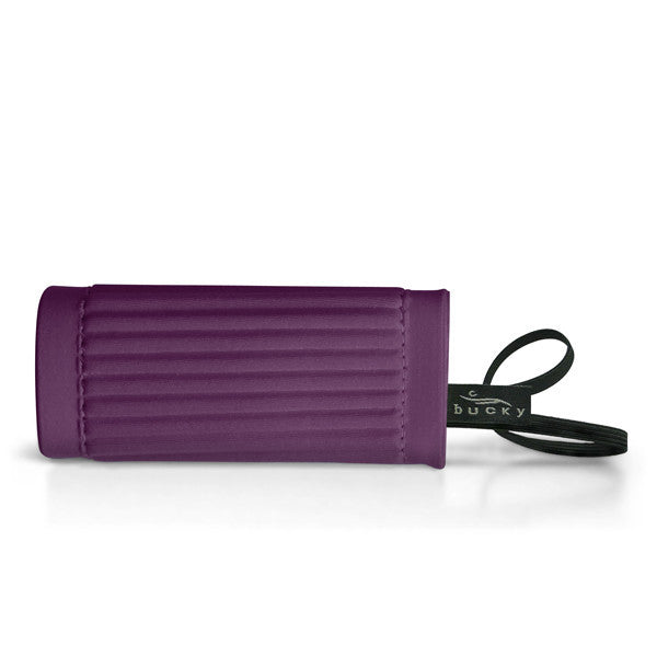 IdentiGrip Luggage Handle Wrap - Plum - Bucky - 1