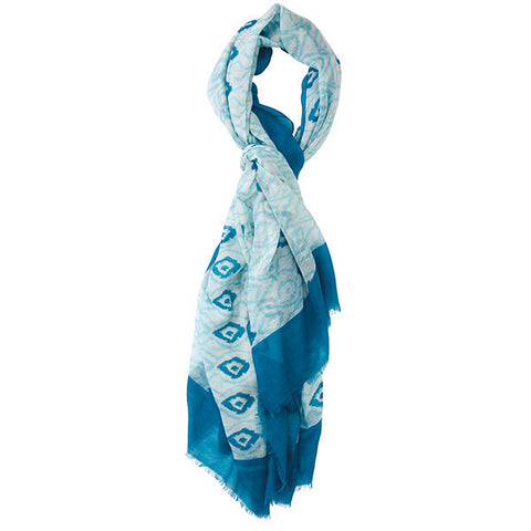 Ikat Diamond Scarf