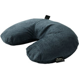 Fun Fur Neck Pillows with Snap & Go - Charcoal
