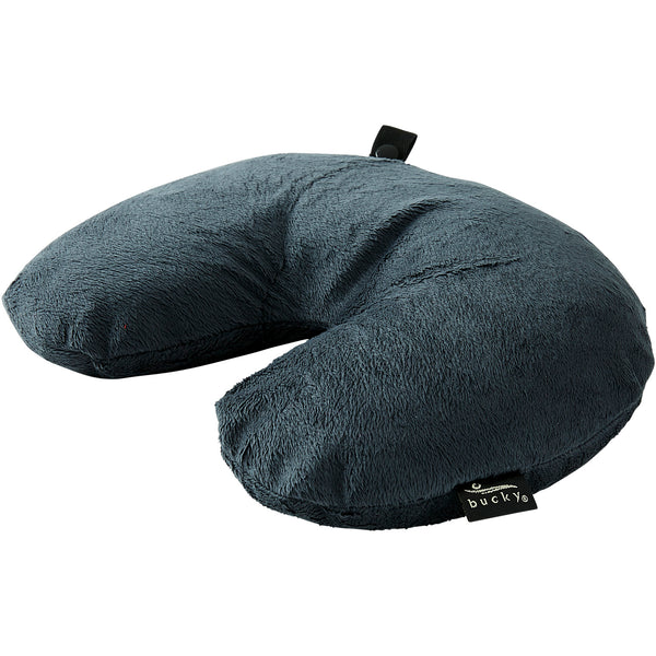 Fun Fur Neck Pillow - Charcoal