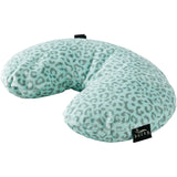 Fun Fur Neck Pillow - Leopard Ice