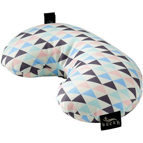 Compact Neck Pillow with Snap & Go - Geo-Tri