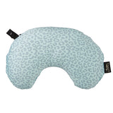 Compact Neck Pillow with Snap & Go - Leopard Ice