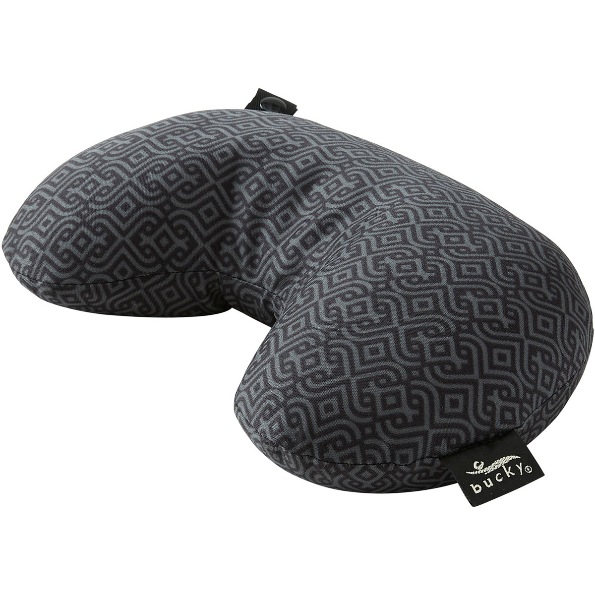 Compact Neck Pillow With Snap Go Bucky