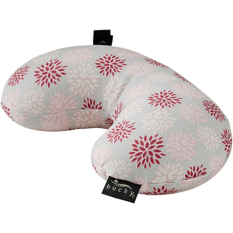 Compact Neck Pillow with Snap & Go - Ruby Pop