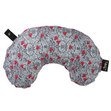 Compact Neck Pillow with Snap & Go - Trellis