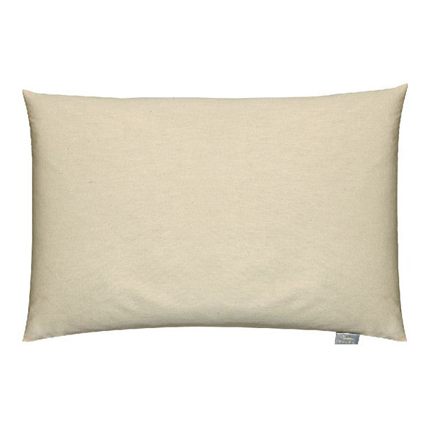 Organic Cotton Buckwheat Bed Pillow-White, Bed Pillows - Bucky Products