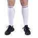 Compression Calf Sleeves - White