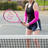 Compression Arm Sleeves - Hot Pink