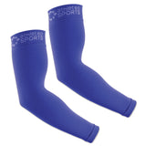 Compression Arm Sleeves - Bright Blue