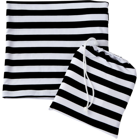 Multi-Purpose Cover - Black White Stripe