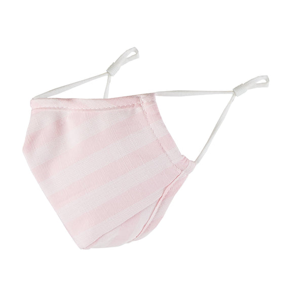 Cloth Face Mask - Pink Stripes