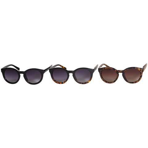 Willow Polarized Round Sunglasses - 3 Pack