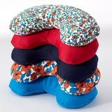 Compact Neck Pillow with Snap & Go - Ditsy Floral - Bucky - 4