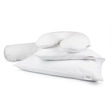 Comfort Bolster Pillow Cover White, Bed Pillows - Bucky Products