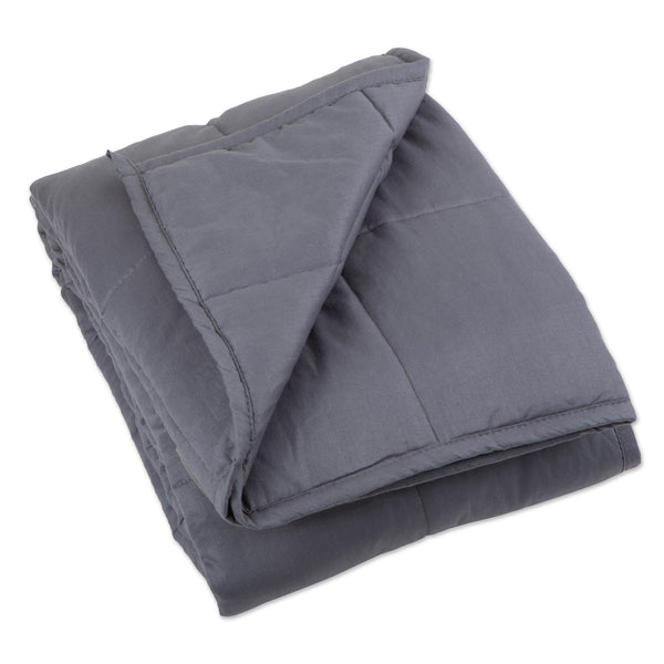 "60"" x 80"" Weighted Blanket - Gray"