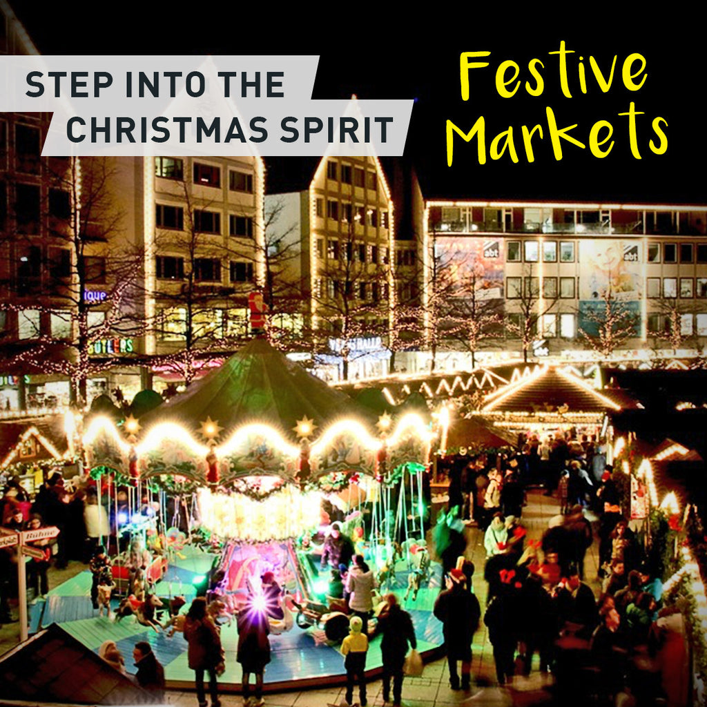 Step into Christmas with a visit to a Festive Market