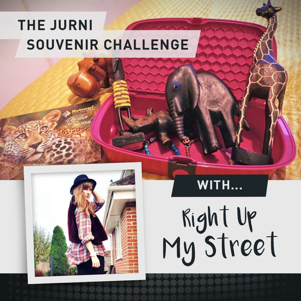The Jurni Souvenir Challenge - Right Up My Street