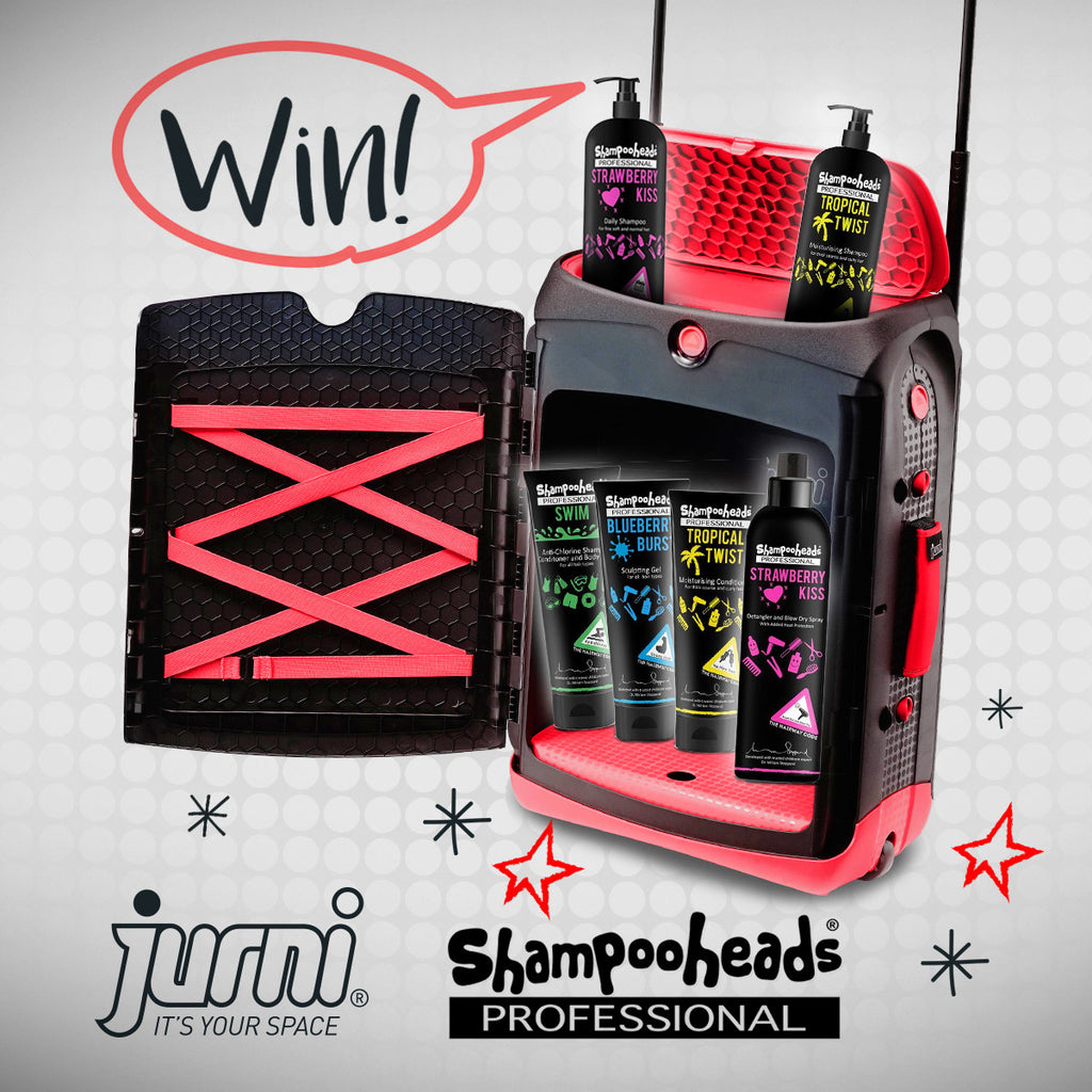 WIN A Jurni Suitcase & a selection of Shampooheads Professional Products!