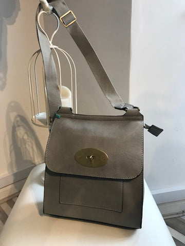 Mulberry Inspired Satchel - Brown