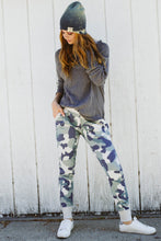 French Terry Camo Jogger