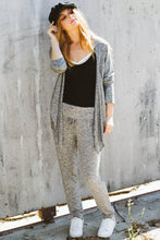 Marle Knit Roll Waist Pant