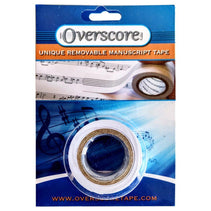 Overscore: Unique Removable Manuscript Tape