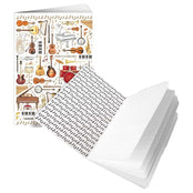 Musical Instruments A6 Softback Notebook