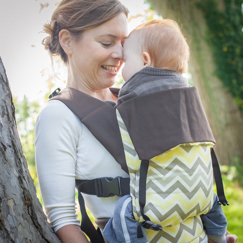 Chevron Print Action Baby Carriers