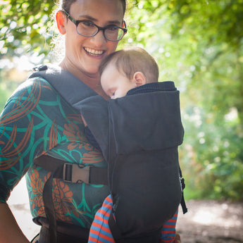 Black Action Baby Carrier