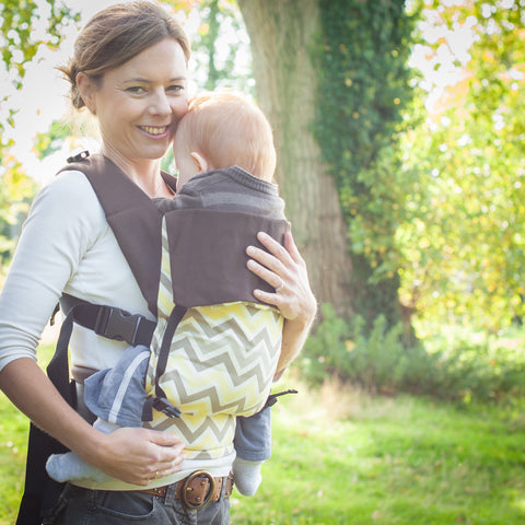 Chevron Action Baby Carrier