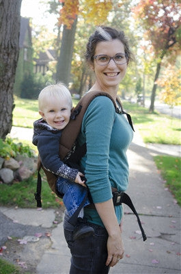 Chocolate Action Baby Carrier