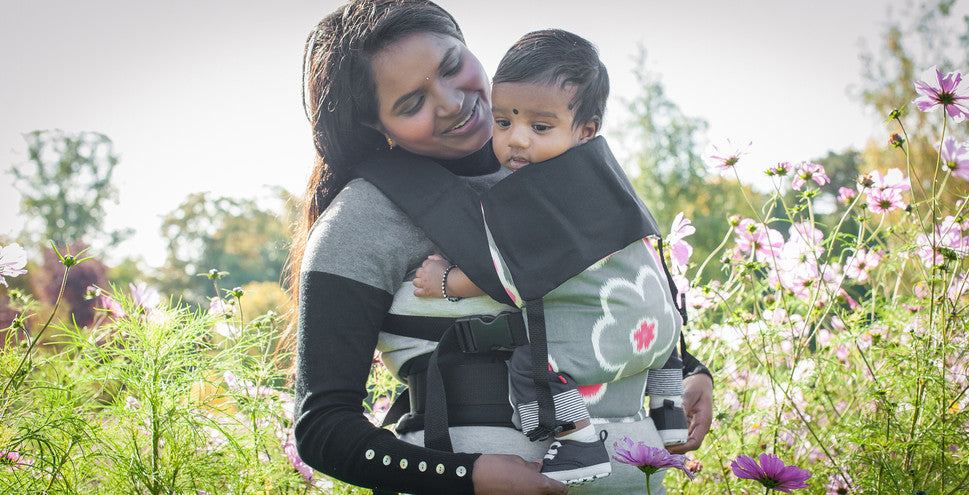 Action Baby Carriers in use