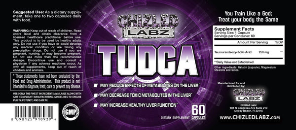 Best Tudca Supplement. Premium Quality for Serious Athletes & Trainers. The Ultimate Liver Detox Kidney Health Pill. Perfect for Cycle Support & Post Cycle Therapy Detoxification Cleanse. 60 Capsules