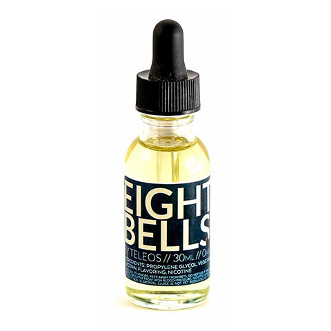 Teleos eight bells vape juice