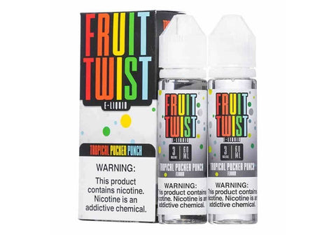 Fruit Twist Tropical Pucker Punch 2x60ml Blister Pack