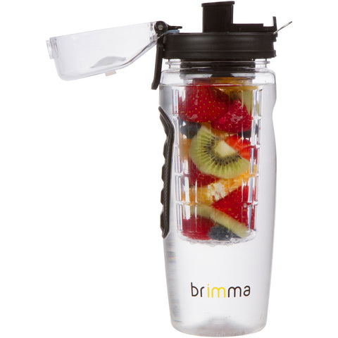 fruit infused water bottle ugly fruit