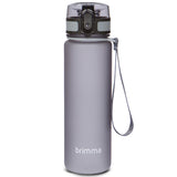 Sports Water Bottle - 18 oz - Grey