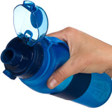 Collapsible Water Bottle - 22 oz - Blue