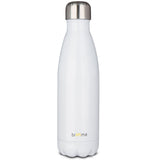 Insulated Stainless Steel Water Bottle - 17 oz - White