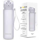 Sports Water Bottle - 18 oz - White
