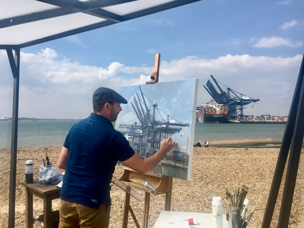 Through to the final of Sky Arts Landscape Artist of the Year 2018